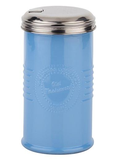 Opak Mavi Renkli Cam Şekerlik-Tantitoni